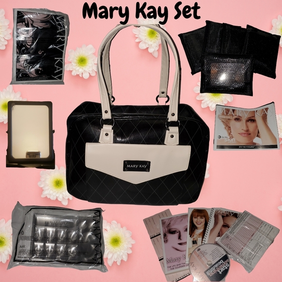 Mary Kay Bag Set with Dividers